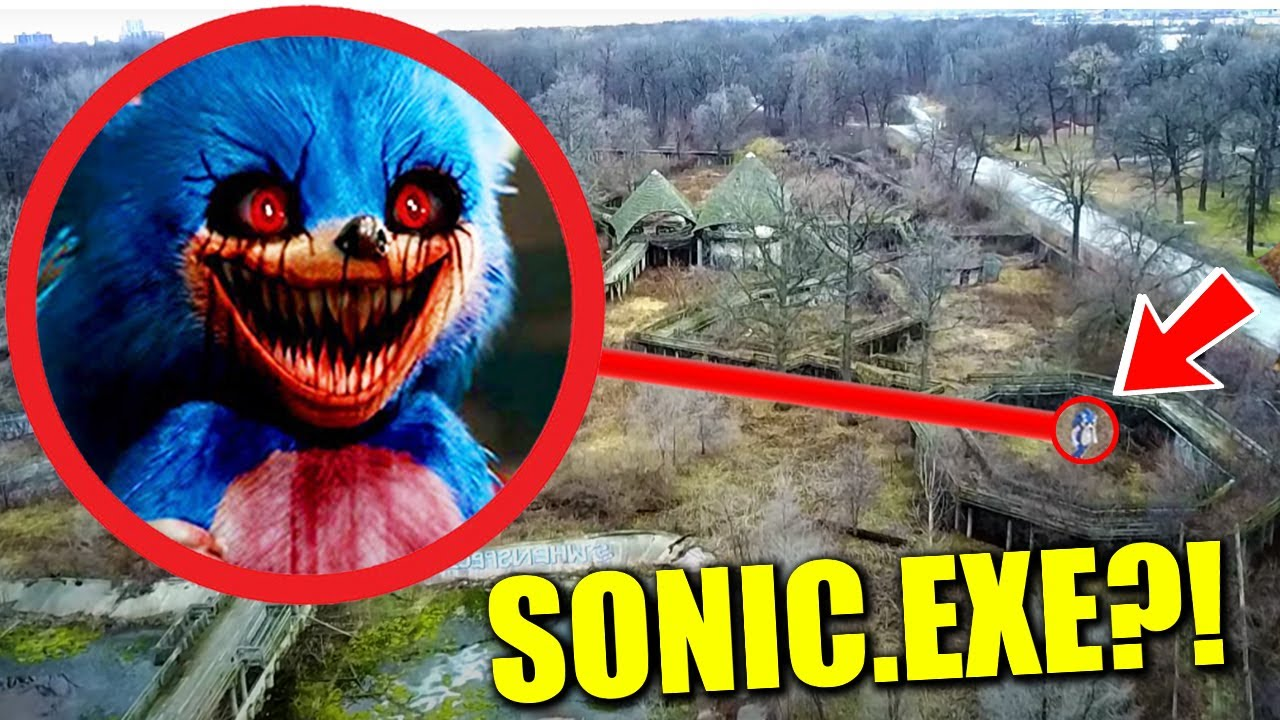 (omfg) you won't believe what my drone found at this secret abandoned zoo / Sonic.exe sighting!!