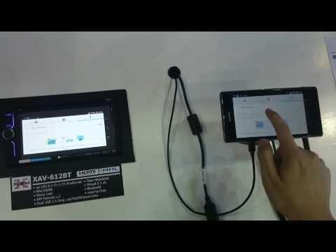 SONY XAV-712BT XAV-612BT with HDMI MHL preview