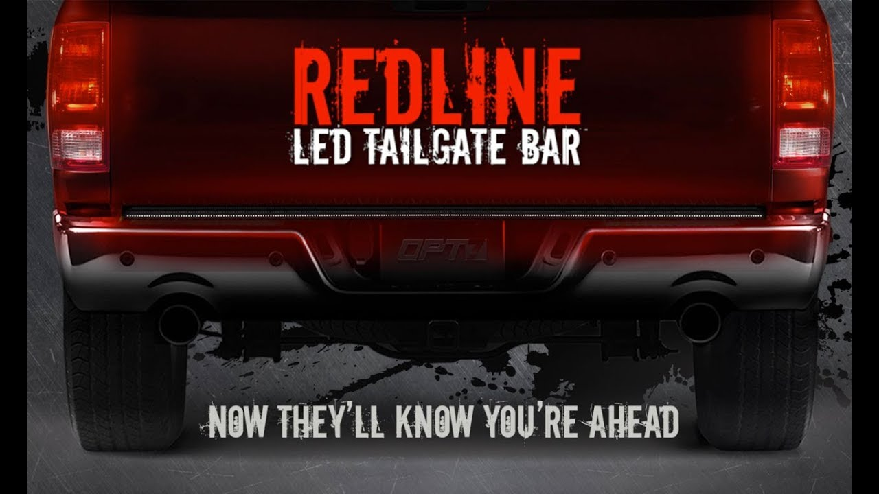 Opt7 S Redline Triple Tailgate Led Brake Light Bar For