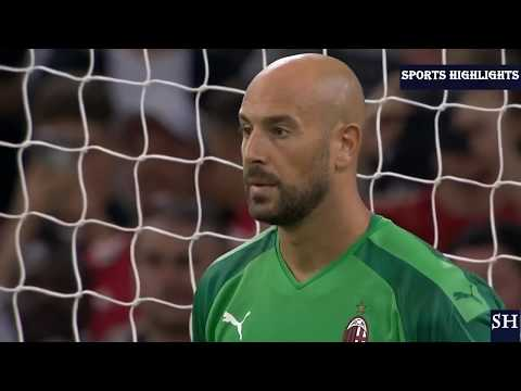 Manchester United Vs AC Milan | Draw 2-2 | Penalty Shootout 5-4 | Highlights