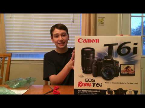 Canon t6i UNBOXING! - Epic Black Friday Deal!