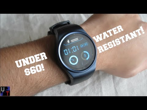 New Walmart's $50 LEMFO LF18 Water Resistant Smartwatch Unboxing & 1st Impressions!