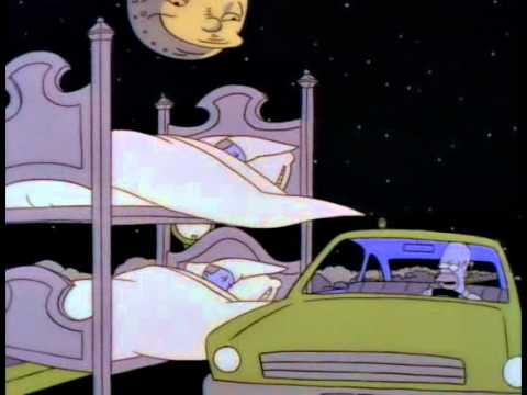 Homer falls asleep while driving youtube homer falls asleep while driving ccuart Choice Image