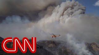 Mom of newborn describes escape from Camp Fire in California