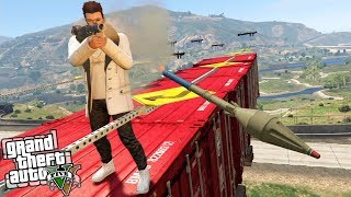 Video de GTA 5 | MARIO VS RPG!!! QUIEN GANARÁ?? | Stratus