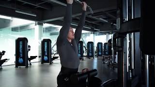 Качаем спину! Вертикальная тяга обратным хватом к груди в блоке. Упражнения для тренировки спины.