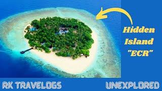 Hidden Island in ECR Chennai || Beach island || RK Travelogs