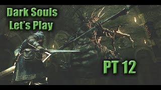 Dark Souls Lets Play Ep 12-- Sif  ;_;