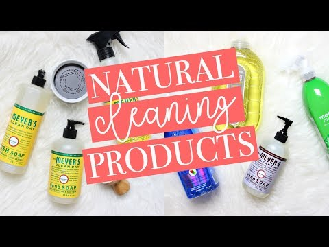 WHY I SWITCHED TO NATURAL CLEANING PRODUCTS + My Favorite Non-Toxic Products!