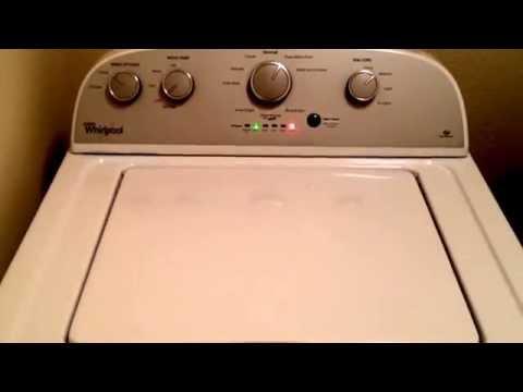 Whirlpool Wtw4800 Top Load Washer Doovi