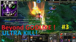 DotA 6.83d - Slark Beyond GODLIKE ! #3 (ULTRA KILL)