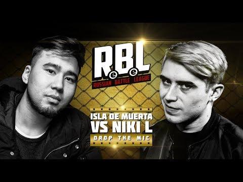 RBL: ISLA DE MUERTA VS NIKI L (DROP THE MIC)