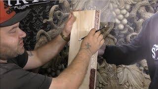 Уроки резьбы по дереву для начинающих, узоры, эскизы, фрагменты