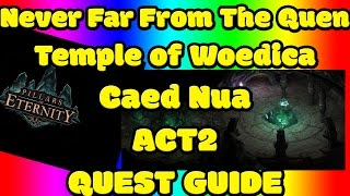 Never Far From the Queen ► Pillars of Eternity ► Temple of Woedica ► Caed Nua ► Act 2 ► Quest Guide