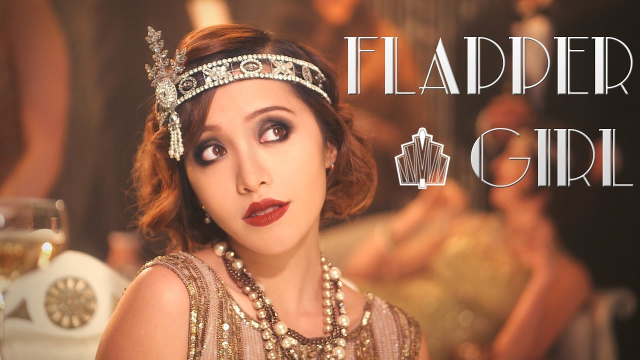 Gatsby 1920s Flapper Girl - YouTube