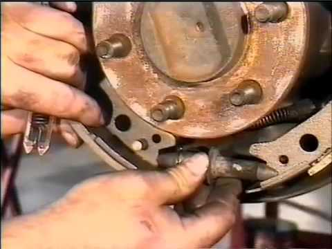 Rear Brakes 2 Dodge Dakota Youtube
