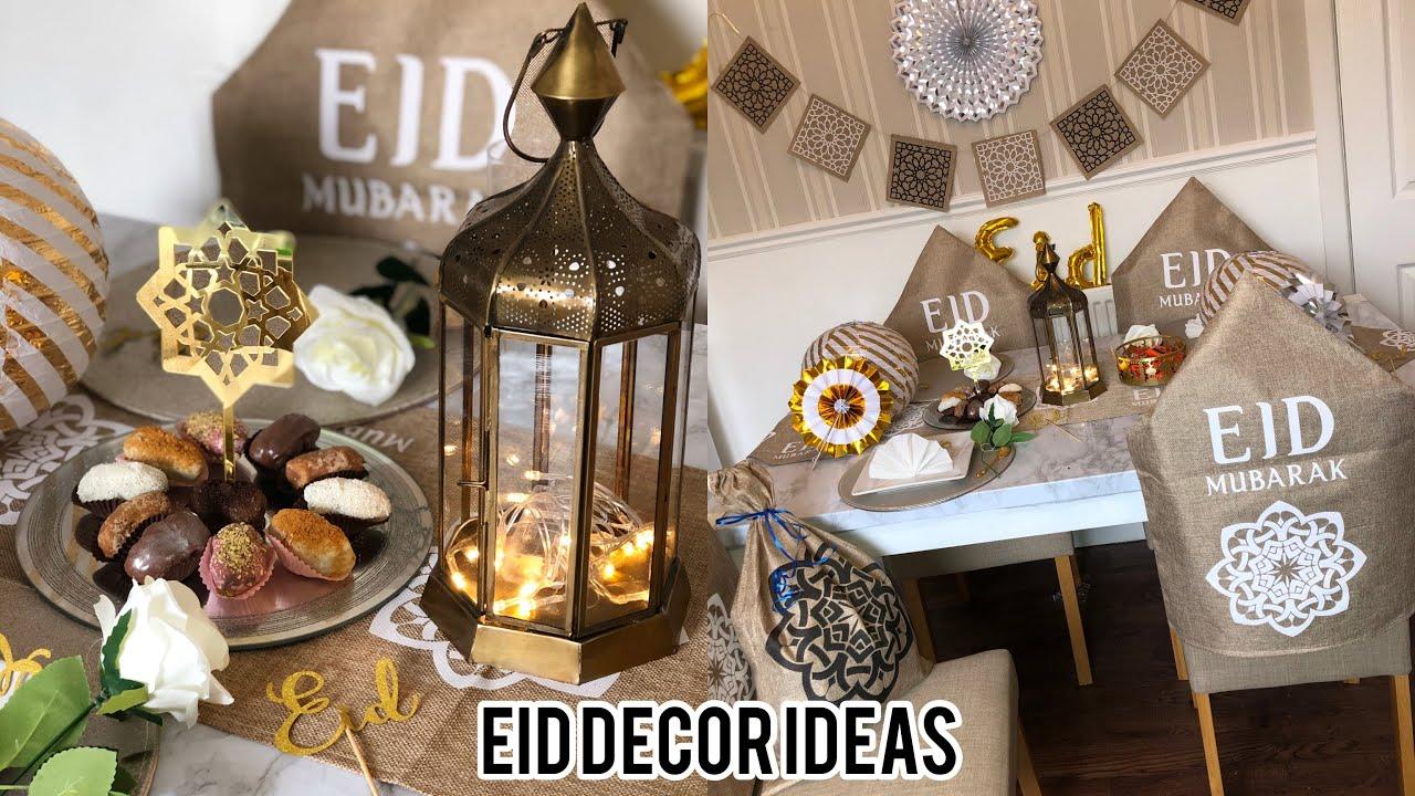 EID TABLE DECOR IDEA 2020 | DIY | ramadan inspo