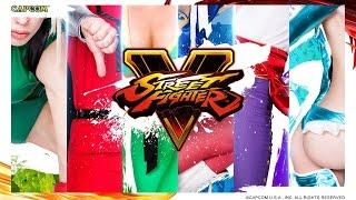 Street Fighter V Cosplay Calendar - Backstage