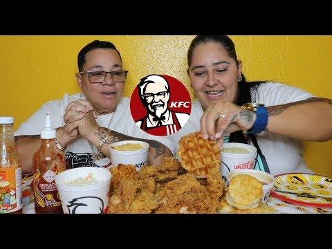 EATING KENTUCKY FRIED CHICKEN (KFC) MUKBANG
