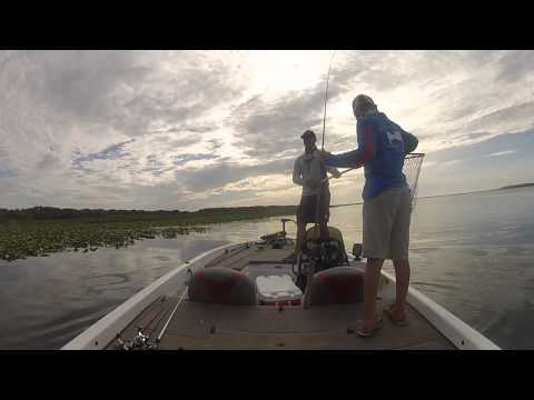 Bass fishing lake kissimmee june242015 youtube for Lake kissimmee fishing report