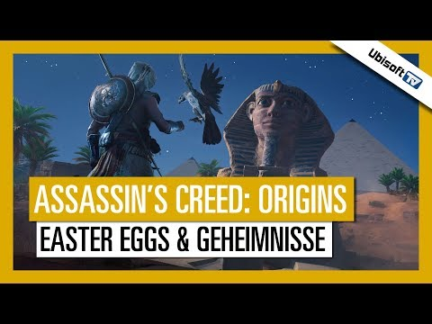 Easter Eggs und Geheimnisse in Assassin's Creed Origins | Ubisoft-TV [DE]