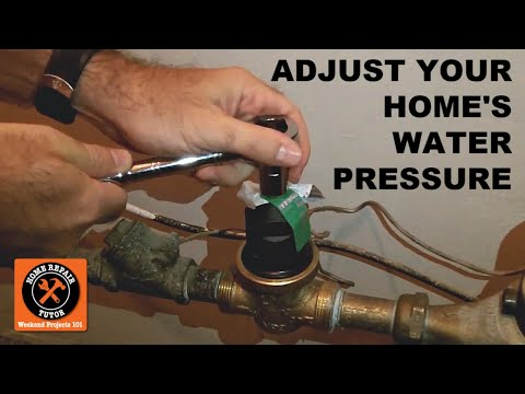 Test And Adjust Your Home S Water Pressure By Home