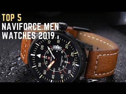 Top 5 Naviforce Men Watches 2019| Men's Sports Quartz Watch Buy Now On Amazon