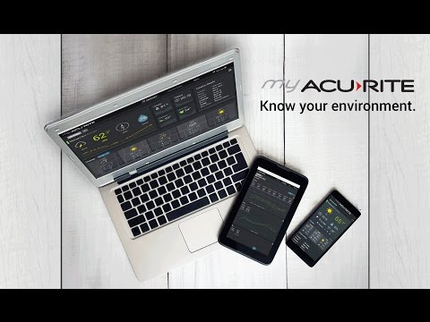 Personal Weather Station & Environmental Monitoring with My AcuRite