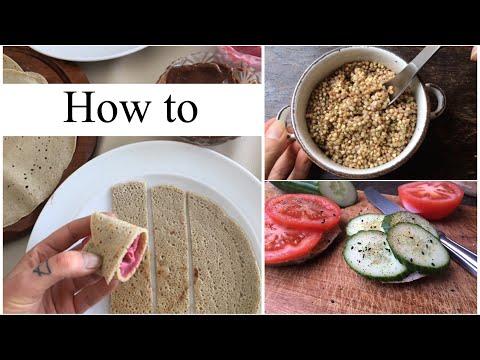 Buchweizen: Pfannkuchen, Brot, Sprossen & Reis-Alternative