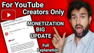 Update on your YouTube Partner Program Application! Invalidate YPP contract in 30 days! Attention!!