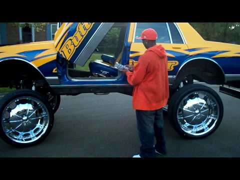 28S ON BOX CHEVY WITH AIRBAGS!! BUTTERFINGER BOXX