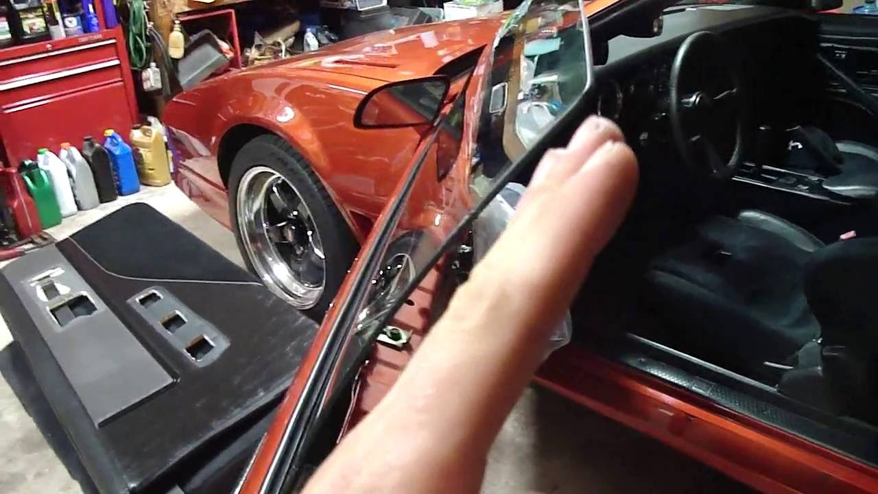82 92 Third Gen Camaro Firebird Side Window Adjustment How
