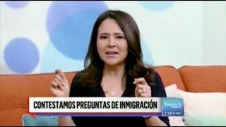 En Despierta Ámerica la abogada responde dudas de inmigración