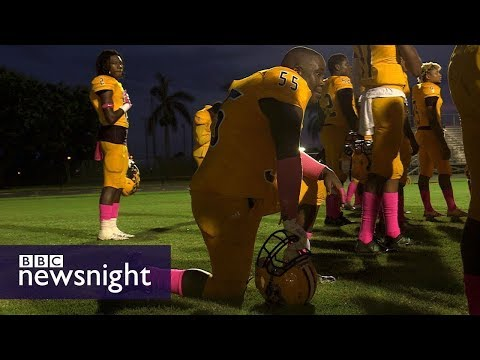Take A Knee: The Movement That's Dividing America - BBC Newsnight
