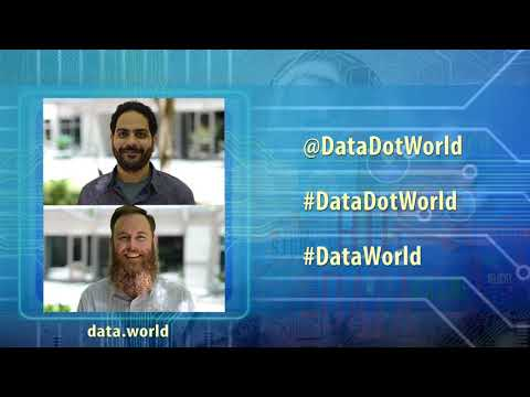 Data.World (@datadotworld) - Joe Boutros & Alex Zelenak talks about this innovative Open Data Portal