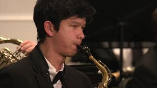 Rivers Youth Wind Ensemble - Ron Nelson -  Courtly Airs and Dances