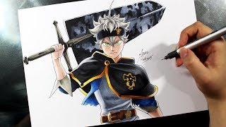 Speed Drawing - Asta [BLACK CLOVER]