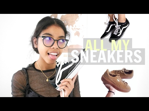 all my sneakers • parlons sneakers avec caro