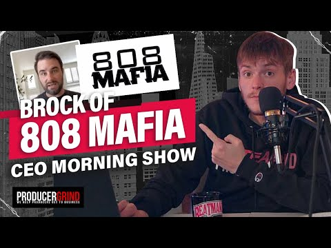 Brock 808 Mafia Talks Producer Deals, Building Your Brand & How Labels Work | CEO Morning Show # 11