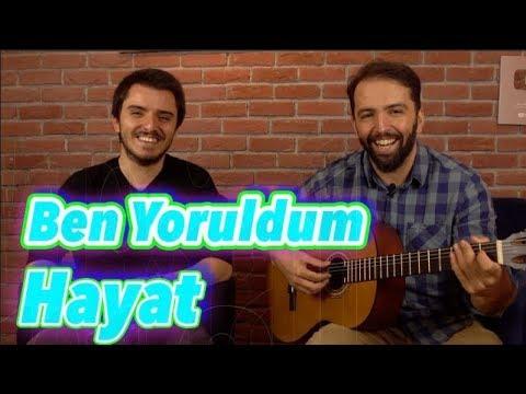 Mümin Sarıkaya BEN YORULDUM HAYAT  Akor + Polifonik intro Gitar Dersi