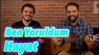 Mümin Sarıkaya BEN YORULDUM HAYAT  Akor + Polifonik intro Gitar Dersi Video