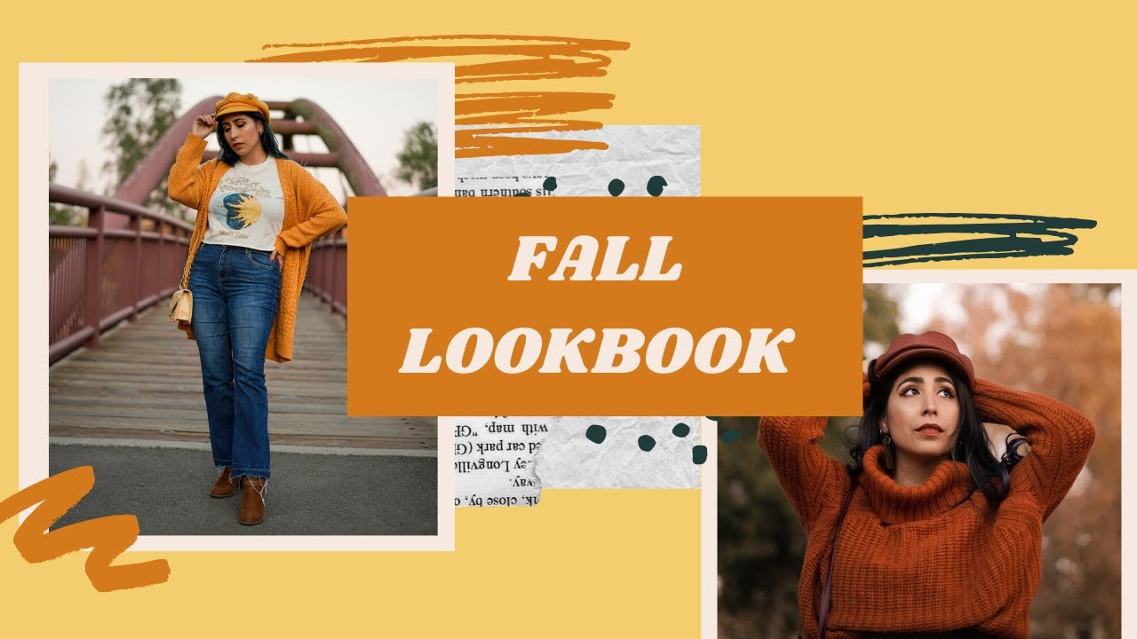 [VIDEO] - Thanksgiving & Fall Lookbook | Outfit Ideas 2019 | Design by Brianna 1