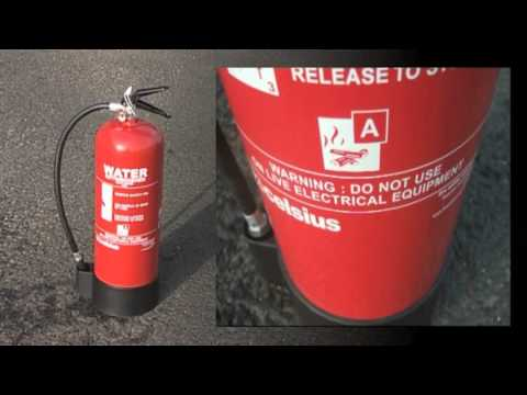Fire Warden water extinguisher