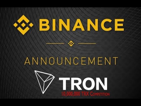 Tron (TRX) - Major News -Paying Taxes with Bitcoin - TRONdice - Binance Gold Label Project