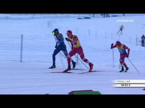 Победный финиш Большунова в масс-старте
