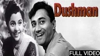 Dushman - दुश्मन 1957 | Hindi Superhit Movie | Dev Anand, Usha Kiran