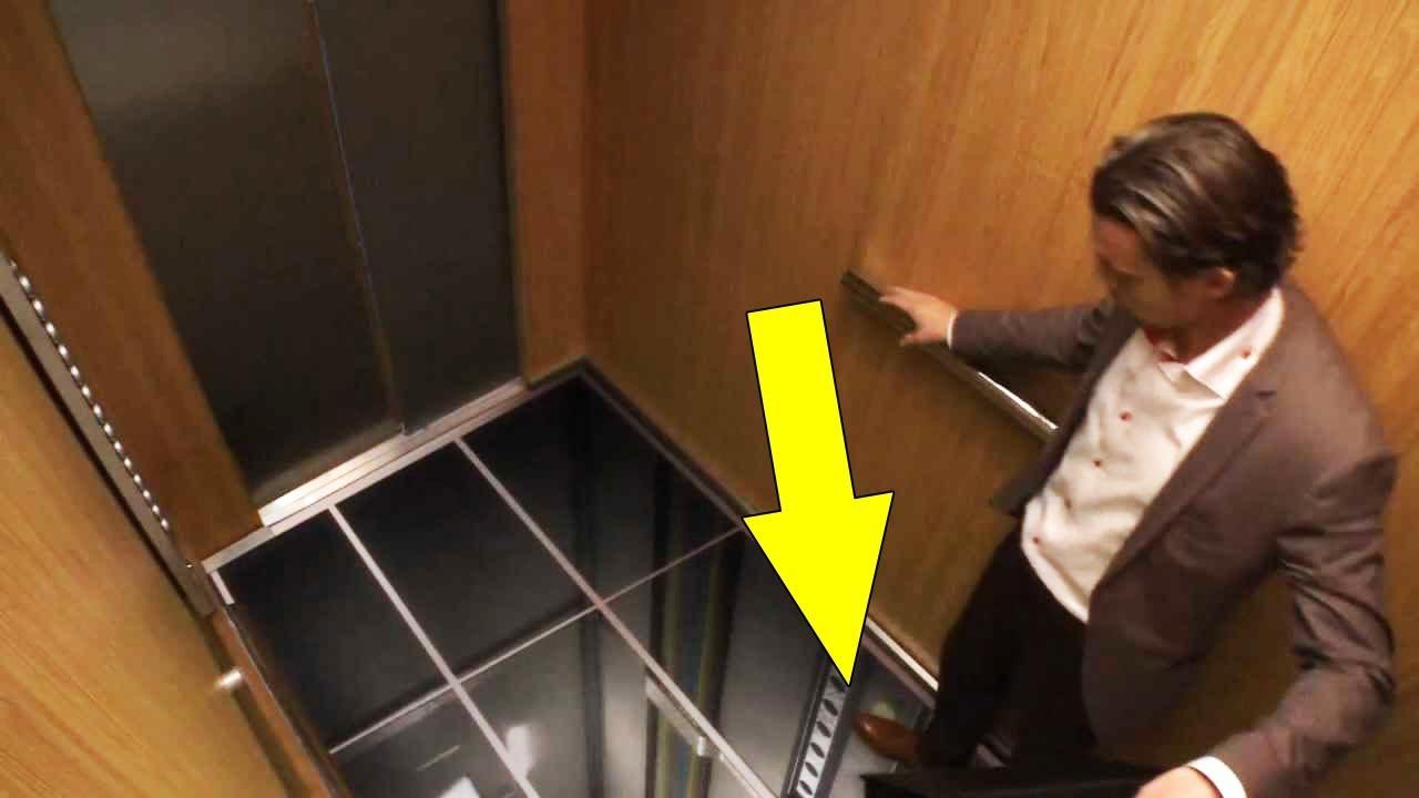 Bunun Sıradan Bir Asansör Olduğunu Sanıyordu.. İçine Girince Gerçeği Anladı