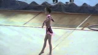 Художественная гимнастика б/п 6 лет - Валерия Кузьмина 1 место 2008 год