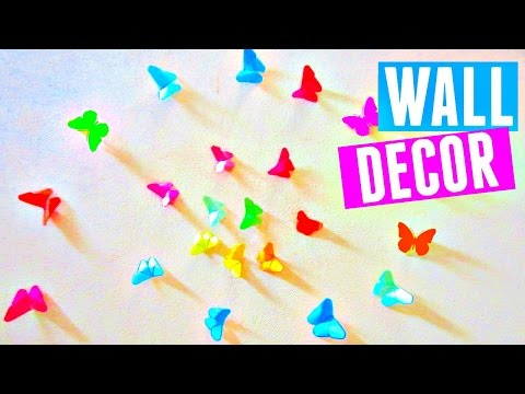 diy-rainbow-butterfly-room-decor-|-how-to-make-an-origami-butterfly