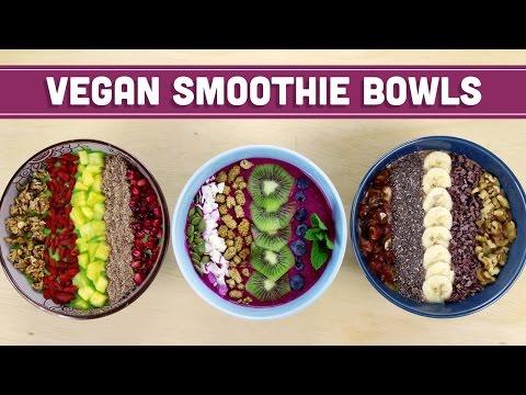 Vegan Smoothie Breakfast Bowls! – Mind Over Munch